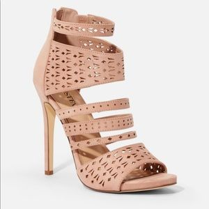 Boardwalk babe cut out heals from just fab